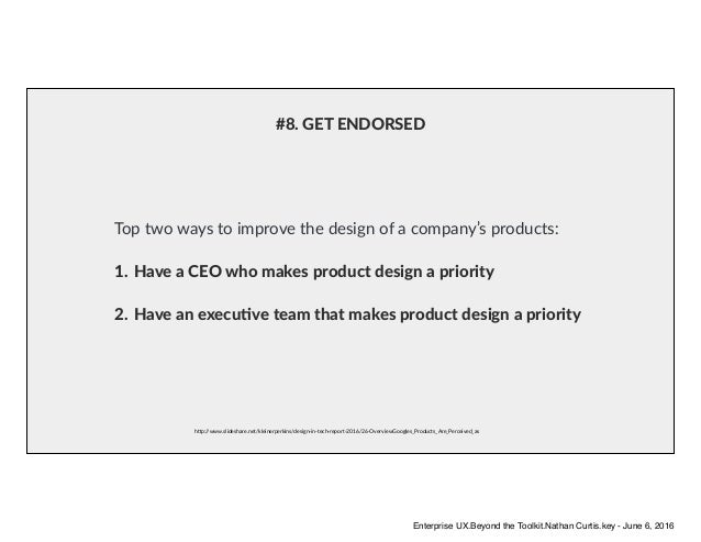 h6p://www.slideshare.net/kleinerperkins/design-in-tech-report-2016/26-OverviewGoogles_Products_Are_Perceived_as Top two wa...