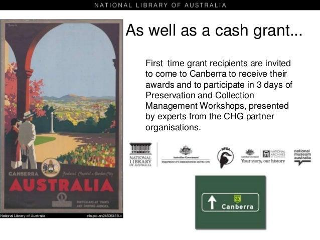 nla.gov.au chg guidelines