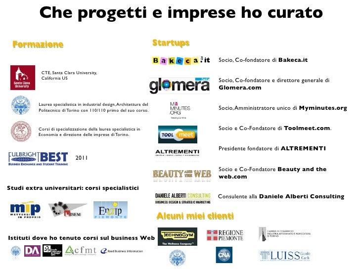 POP Campus: Chi è Daniele Alberti Slide 2