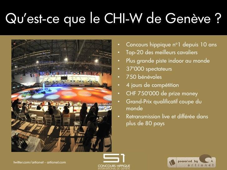 Qu'est-ce que le CHI-W de Genève ?                                       •   Concours hippique no1 depuis 10 ans         ...