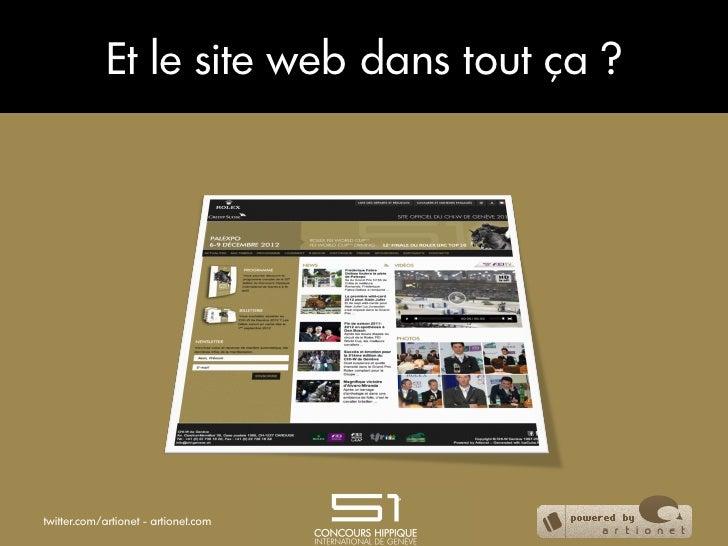 Et le site web dans tout ça ?twitter.com/artionet - artionet.com