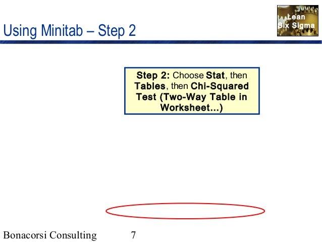 Chi square analysisforattributedata011406 – Chi Square Worksheet