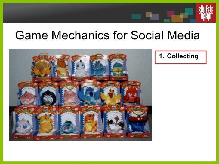 Game Mechanics for Social Media <ul><li>Collecting </li></ul>