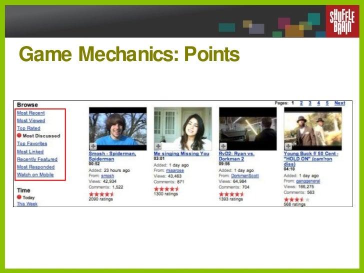 Game Mechanics: Points