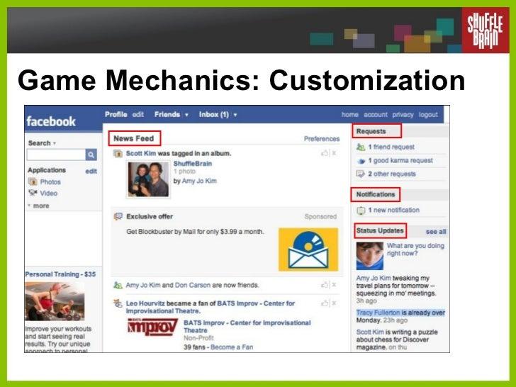 Game Mechanics: Customization