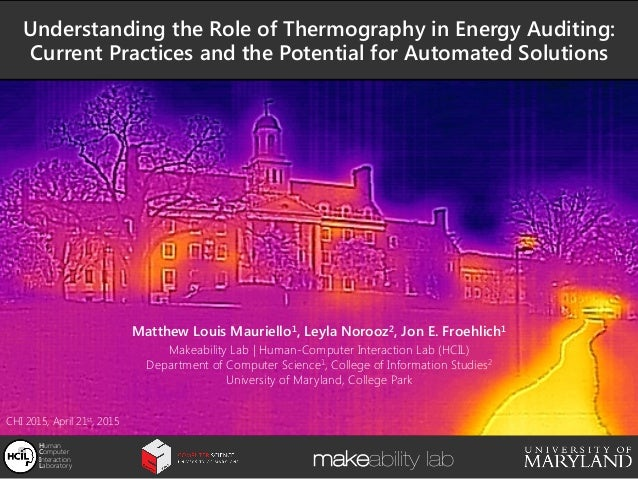 Understanding the Role of Thermography in Energy Auditing: 