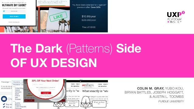 COLIN M. GRAY, YUBO KOU, 