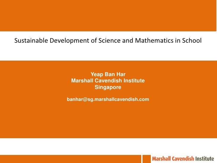 เสวนาวิชาการ งานประชุมวิชาการวิทยาศาสตร์ คณิตศาสตร์ในโรงเรียนครั้งที่ 20 Sustainable Development of Science and Mathematic...