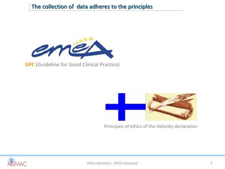 clnical practice guideline world database