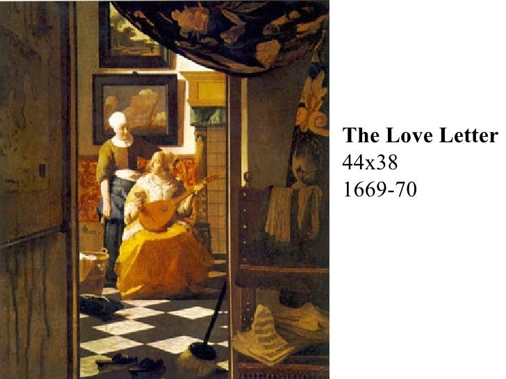 the love letter chiaroscuro 1665