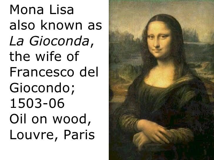 Image result for Francesco del Gioconda.