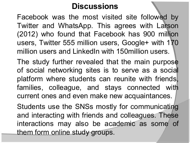 effect of social network among students The study also points out the popularity of social networking sites among students community the social networking sites and social media have revolutionized the world, bringing us closer than.