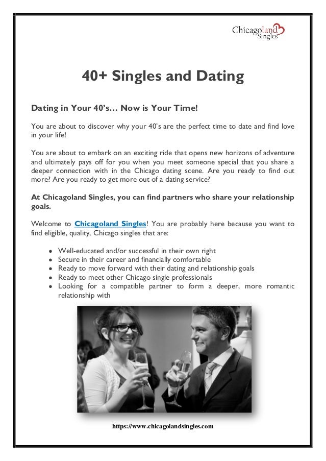Where to meet guys in your 40s