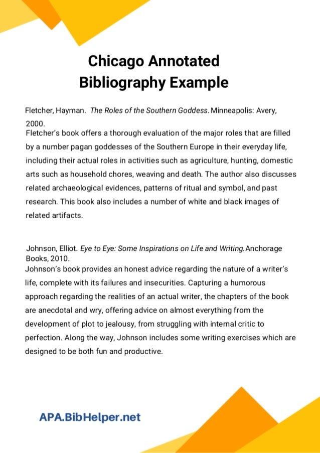 annotated bibliography deutsche übersetzung