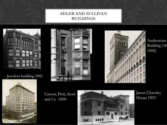 Chicago Architecture Frank Lloyd Wright Louis Sullivan