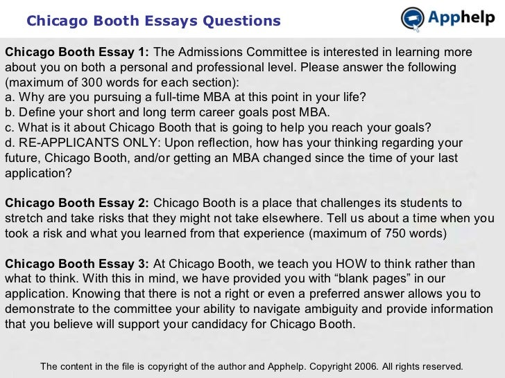 Booth power point essay