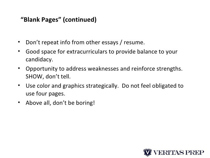 chicago booth powerpoint essay Reapplicant essay: upon reflection, how has your perspective regarding your future, chicago booth, and/or getting an mba changed since the time of your last application (300 words maximum) with this essay question, chicago booth is testing your resolve and your reasoning.