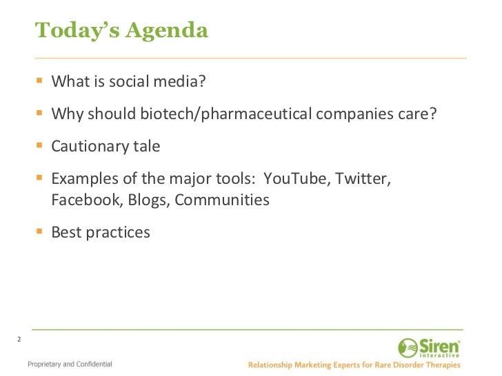 How BioPharma Is Using Social Media Slide 2