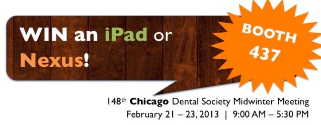 Axex Dental Win an iPad or Nexus V.1.0.0