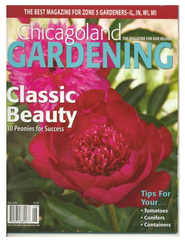 Chicagoland Gardening May/June 2011