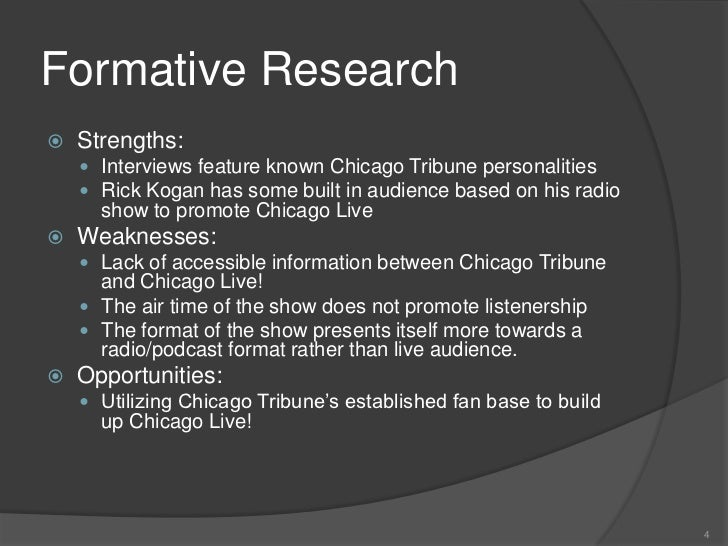 chicago tribune format