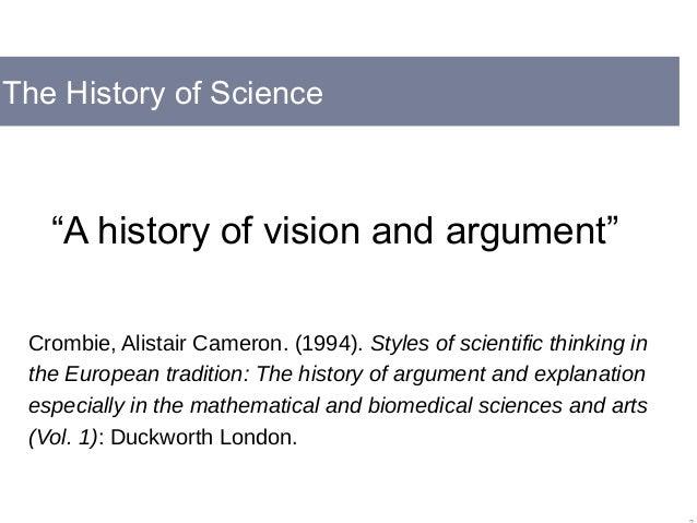 crombie styles of scientific thinking pdf
