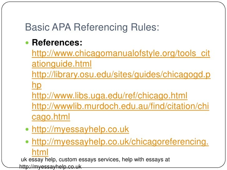 how to use chicago referencing