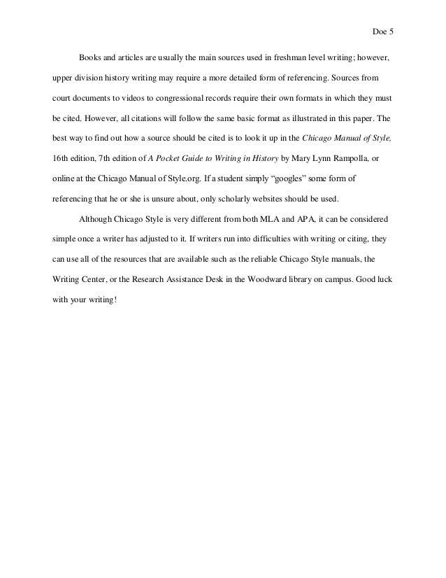 chicago manual of style sample paper austin peay state university a rh slideshare net Citation Clip Art Citation Format Guide