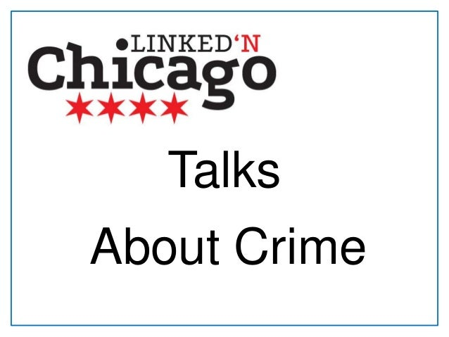 Talks About Crime