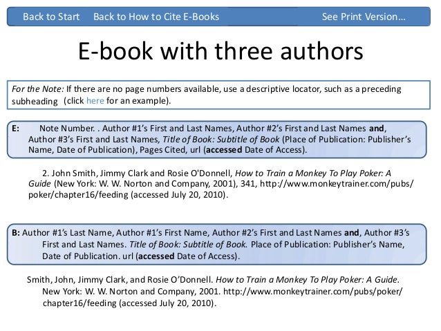 Chicago turabian ppt 11 e book with three authors back to how to cite ccuart Images