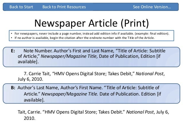 chicago style newspaper Citation machine™ helps students and professionals properly credit the  information that they use cite your newspaper article in chicago manual of style  16th.