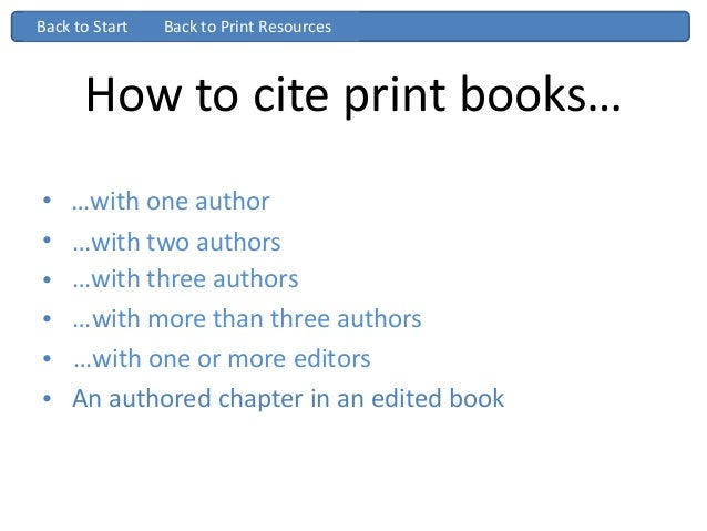 Chicago turabian ppt how to cite print books with one author ccuart Image collections
