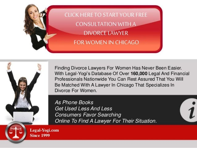 CLICK HERETO START YOUR FREE CONSULTATION WITH A DIVORCE LAWYER FOR WOMEN IN CHICAGO Finding Divorce Lawyers For Women Has...
