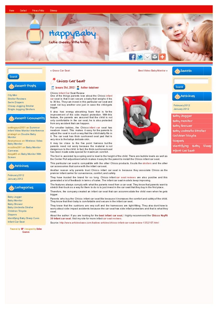 Home       Contact      Privacy Policy   Sitemap                                          HappyBaby                       ...