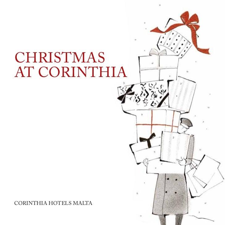 Christmasat CorinthiaCorinthia hotels malta