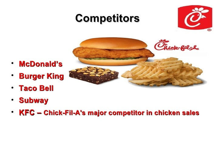 Fast Food Restaurant Competitive Analysis Chick Fil A