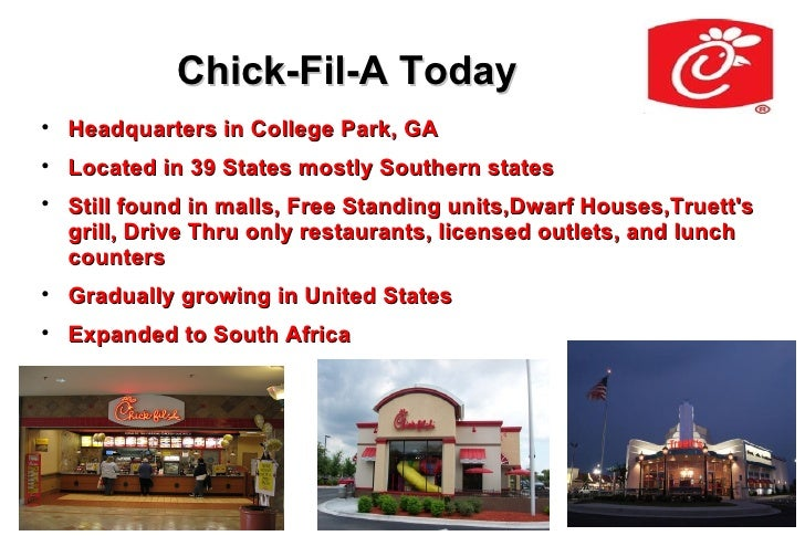 chick fil a industry analysis
