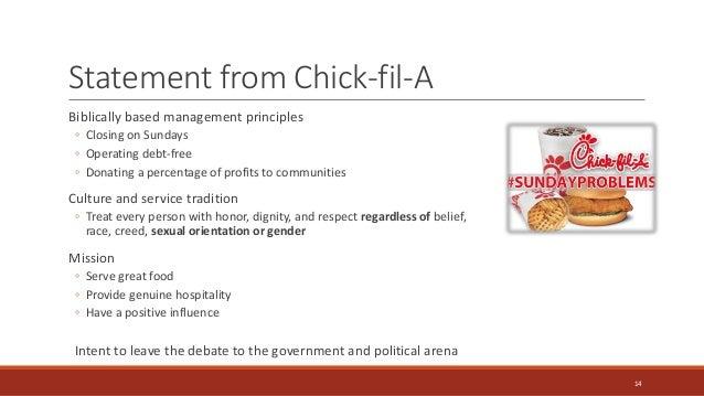 Chickfila swot analysis