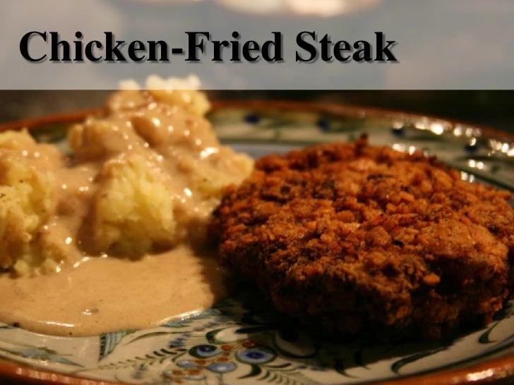 Chicken-Fried Steak<br />