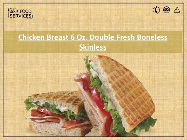 6 Oz Chicken Breast - slideshare