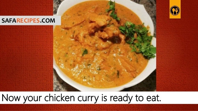 how to make chicken curry recipe easy