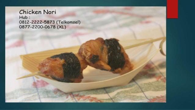 0812-2222-5873 ( Tsel ) | Pabrik Chicken Nori Slide 2