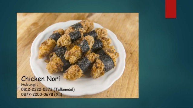 0812-2222-5873 ( Tsel ) | Pabrik Chicken Nori Slide 3