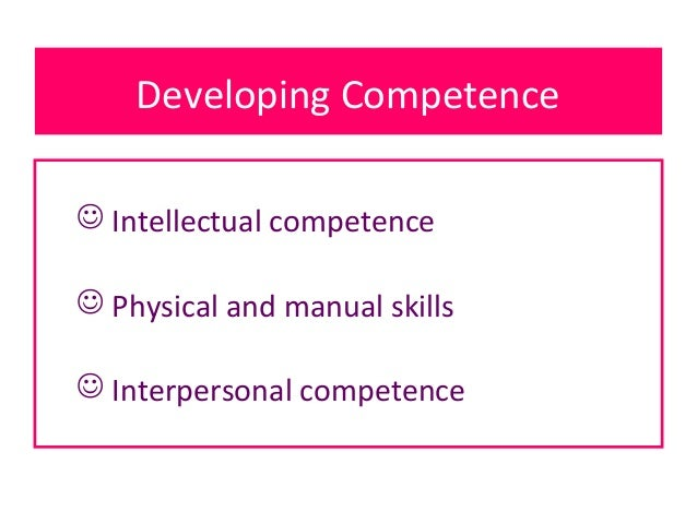 intellectual competence