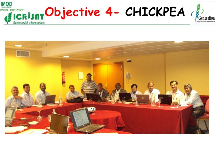 Objective 4- CHICKPEA