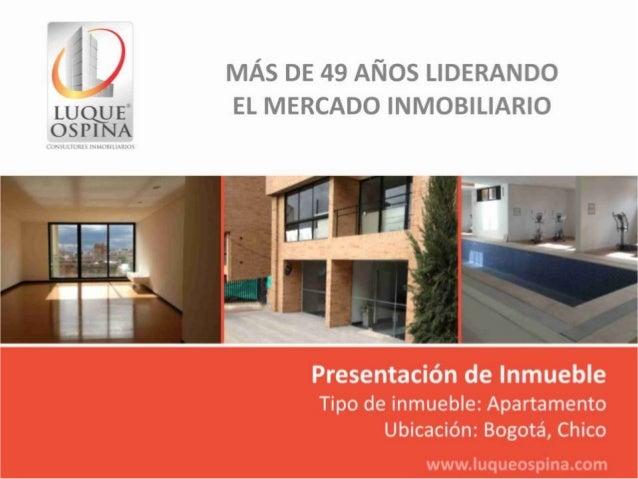 Ubicación del InmuebleBarrio: ChicoCentro ComercialAndinoAutopista NorteCalle 100Zona deUbicaciónde InmuebleCarrera 7ma