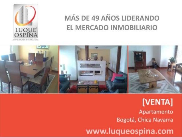 Ubicación del Inmueble Barrio: Chico Navarra  Zona de Ubicación de Inmueble  Autopista Norte  Calle 100  Carrera 15