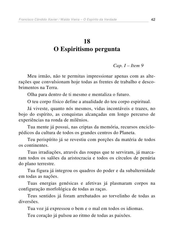 o espirito de verdade francisco xavier pdf