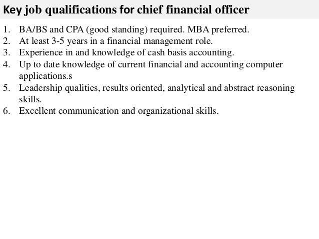 Superior 3. Key Job Qualifications ... Throughout Good Job Qualifications