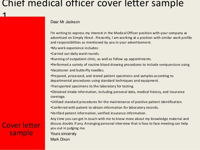 2. Chief Medical Officer Cover Letter ...  Medical Cover Letter